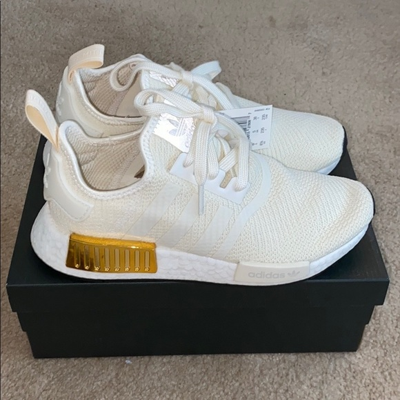 adidas Shoes | Adidas Nmd Gold And